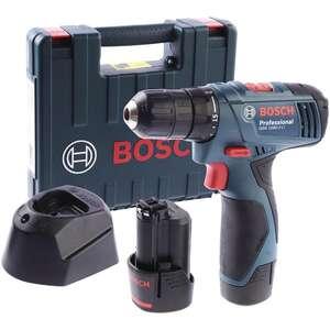 Аккумуляторная дрель-шуруповерт Bosch GSR 1080-2-LI