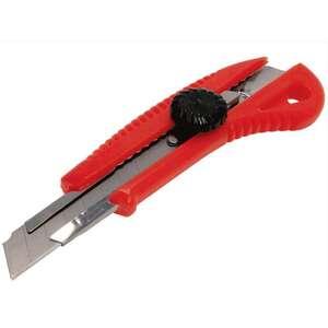 Нож с вращающимся фиксаторов усил. (18мм)