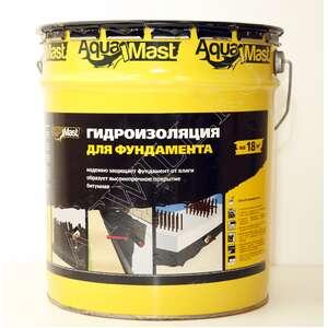 Мастика для фундамента AquaMast (10кг)