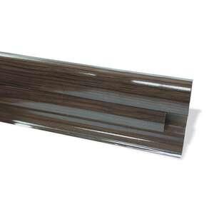 Плинтус под проводку Premium венге (2,5м)