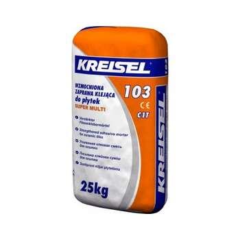 Клей для плитки Kreisel-103 усиленный (25кг)