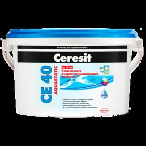 Затирка Ceresit CE-40 абрикосовая (2кг) водостойкая