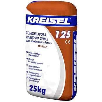 Кладочная смесь для ячеистого бетона Kreisel-125 (25кг)