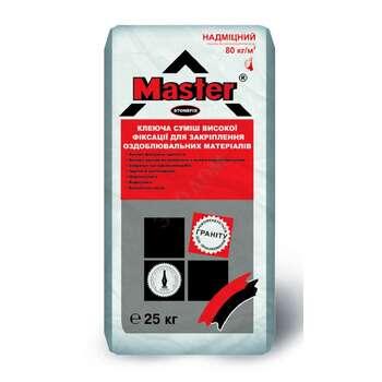 Клей для плитки Мастер Стоунфикс высокой фиксации (25кг)